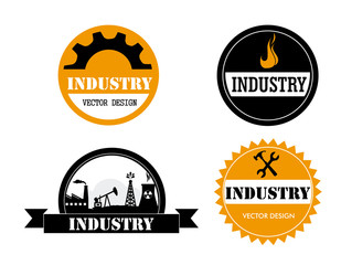industry stickers