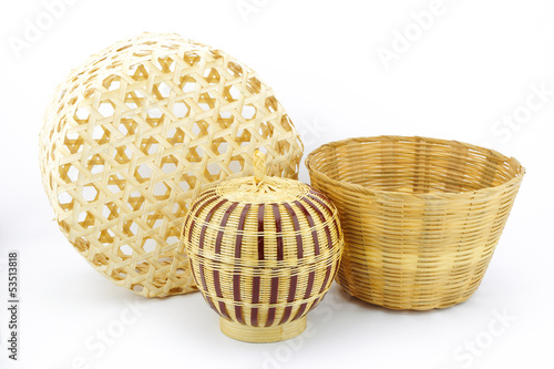 bamboo wickerwork