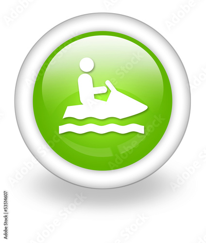 "Light Green Icon ""Personal Watercraft"""