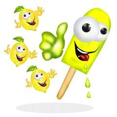 ghiacciolo al limone doc