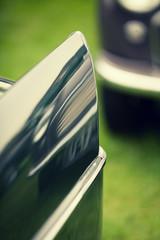classic car reflection
