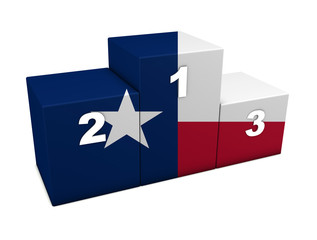 Texas Flag Podium