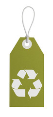 Recycle Tag Green