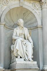 Monument to Franz Grillparzer in the Volksgarten, Vienna