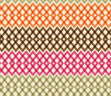 Geometric colorful seamless pattern. Netting structure