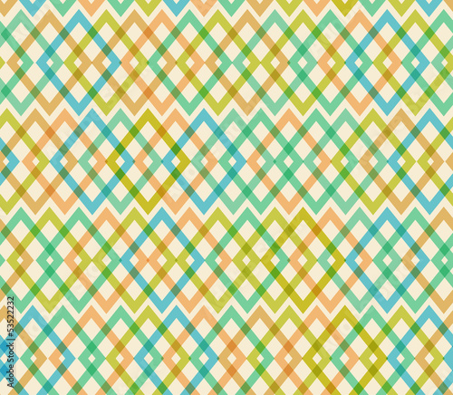 Geometric multicolor seamless pattern