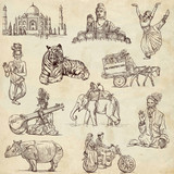 Indian collection - full sized hand drawings