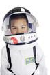 Leinwanddruck Bild - Astronaut Commander Closeup