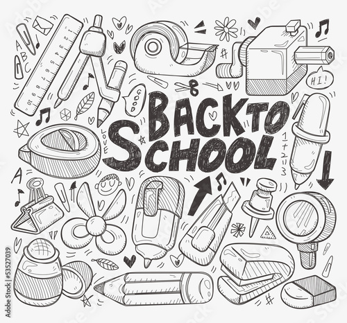 doodle back to school element