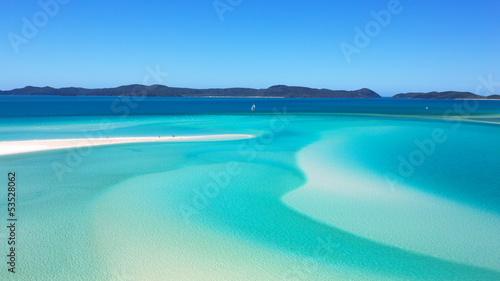 Fotobehang Australië Whitehaven Beach Whitsundays