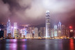 Hong Kong City Night View