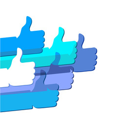 Like - social network symbol