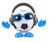 3d Football has new headphones