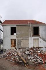 Renovierungsarbeiten am Altbau