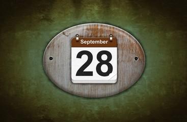 28 de Septiembre.