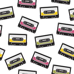 cassette tape pattern