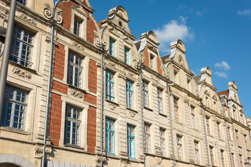 Buildings in The Grande Place Arras