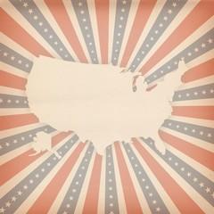 american retro background