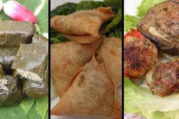 Dolmas - Samoussa - Légumes farcis à la viande