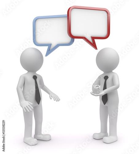 schlagfertig diskutiert