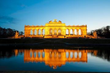 Gloriette at Schonbrunn in Vienna