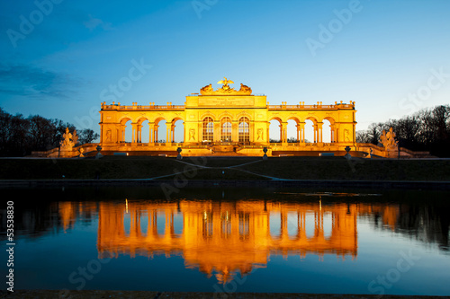 Gloriette at Schonbrunn in Vienna