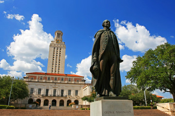 George Washington statue at University of Texas