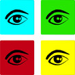 Eye Web Icon Set