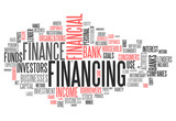 "Word Cloud ""Financing"""