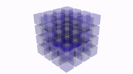 cubo astratto