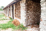Building house in Africa