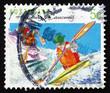 Postage stamp Australia 1994 Kayaking, Canoeing, Australian Spor