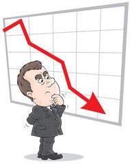 decline in rates