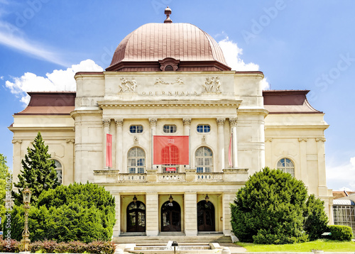 Opera house in Graz,Austria