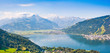 Panoramic view of Zell am See, Austria