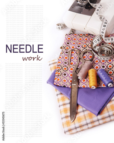 Needlework background
