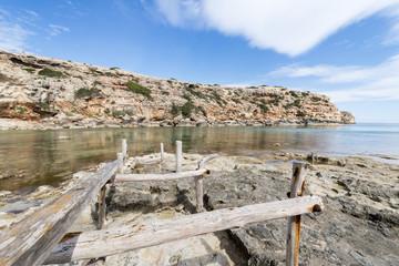 """""""Cala en Baster"""" beach in Formentera"""
