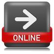 Online Button schwarz grau  #130621-svg04