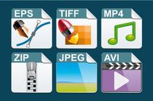 Iconos de tipo de archivo