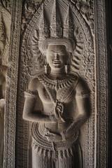 アンコール・ワット 第三回廊のデバダー像