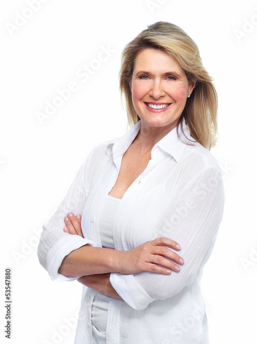 Beautiful senior woman portrait.