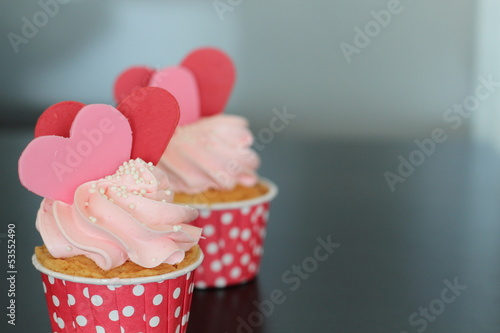 Colorful Sweet Cup Cake