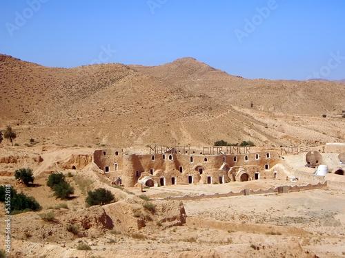Staande foto Tunesië The Museum of Diar Amor in Matmata