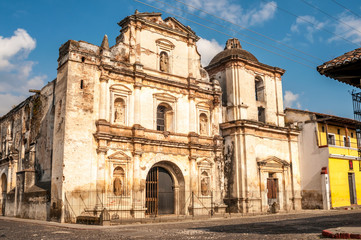 Ruins Church in Antigua