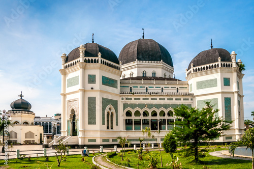 Foto op Plexiglas Indonesië Grand Mosque Medan