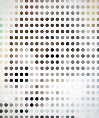 Abstract colorful circle halftone background vector illustration