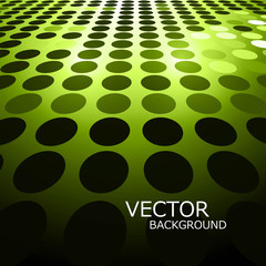 Abstract green circle bright green colorful background vector il