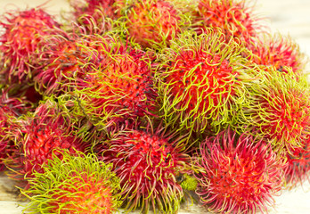 Asian  tropical  fruit,  rambutan