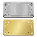 Metal Labels - Nameplates
