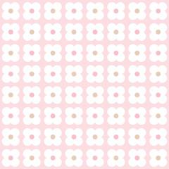 Seamless pink retro background pattern
